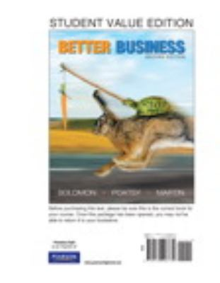 Better Business, Student Value Edition (2nd Edition)