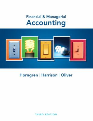 Financial & Managerial Accounting (3rd Edition)