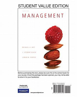 Management, Student Value Edition (3rd Edition)
