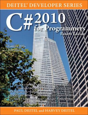 C# 2010 for Programmers (4th Edition) (Deitel Developer Series)