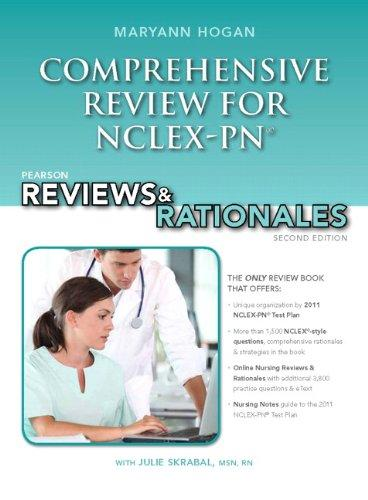 Pearson Reviews & Rationales: Comprehensive Review for NCLEX-PN (2nd Edition)