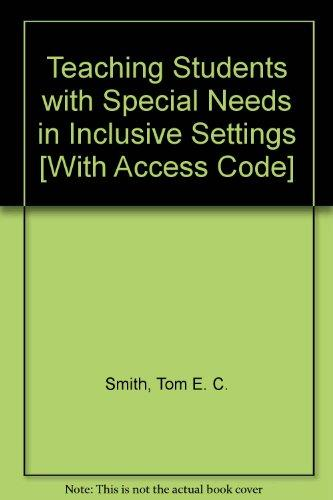 Teaching Students with Special Needs in Inclusive Settings and MyEducationLab Pegasus Student Access Code Card Package (6th Edition)