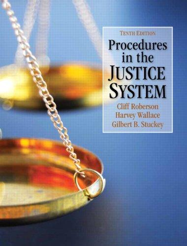 Procedures in the Justice System (10th Edition)