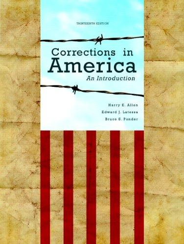 corrections in america 13th edition pdf