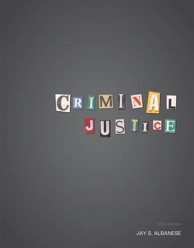 Criminal Justice (5th Edition)