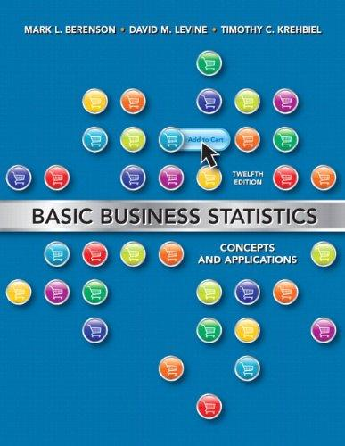 Basic Business Statistics Plus MyStatLab and Pearson eText (12th Edition)