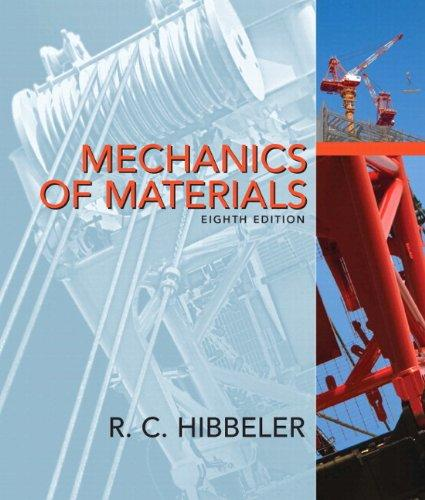 Mechanics of Materials and MasteringEngineering with Pearson eText -- Standalone Access Card -- for Mechanics of Materials Package (8th Edition)
