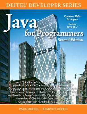 Java for Programmers (2nd Edition) (Deitel Developer Series)