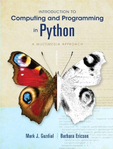 Introduction to Computing and Programming in Python (3rd Edition)