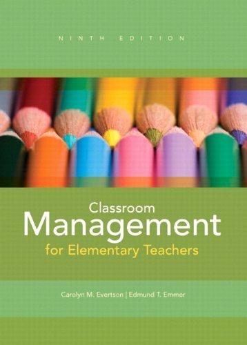 Classroom Management for Elementary Teachers Plus MyEducationLab with Pearson eText -- Access Card Package (9th Edition)