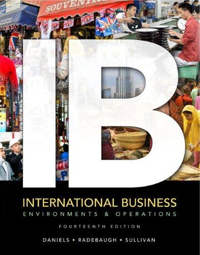 International Business: Environments & Operations Plus NEW MyManagementLab with Pearson eText -- Access Card Package (14th Edition)