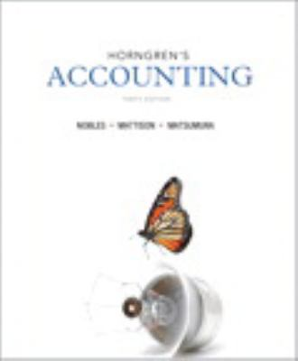 Horngren's Accounting and NEW MyAccountingLab with eText -- Access Card Package (10th Edition)