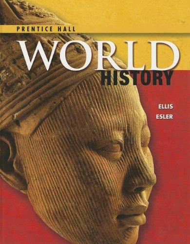 HIGH SCHOOL WORLD HISTORY 2014 PEARSON STUDENT EDITION SURVEY GRADE 9/12