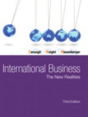 International Business Plus NEW MyManagementLab with Pearson eText -- Access Card Package (3rd Edition)