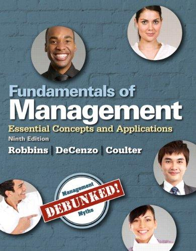 Fundamentals of Management: Essential Concepts and Applications, Student Value Edition (9th Edition)