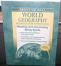 WORLD GEOGRAPHY C2009 READING & VOCABULARY STUDY GUIDE