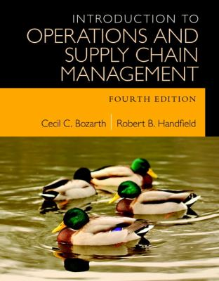 Introduction to Operations and Supply Chain Management (4th Edition)