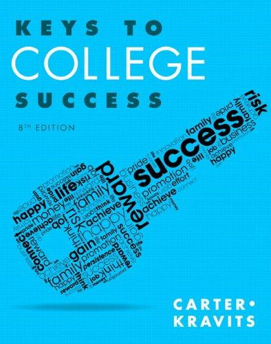 Keys to College Success Plus NEW MyStudentSuccessLab Update -- Access Card Package (8th Edition) (Keys Franchise)