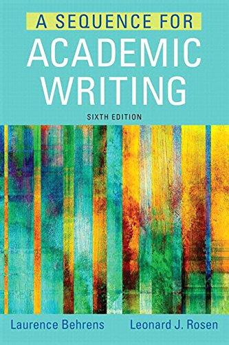 A Sequence for Academic Writing Plus MyWritingLab with Pearson eText -- Access Card Package (6th Edition)