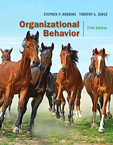 Organizational Behavior (17th Edition)