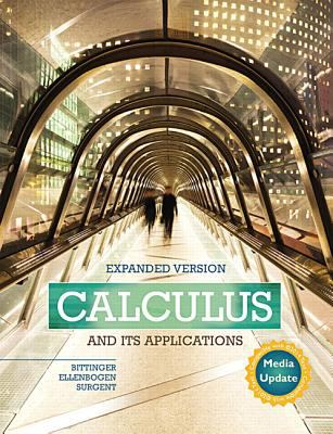 Calculus and Its Applications Expanded Version Media Update Plus MyMathLab -- Access Card Package