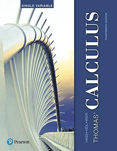 Thomas' Calculus, Single Variable plus MyMathLab with Pearson eText -- Access Card Package (14th Edition) (Hass, Heil & Weir, Thomas' Calculus Series)