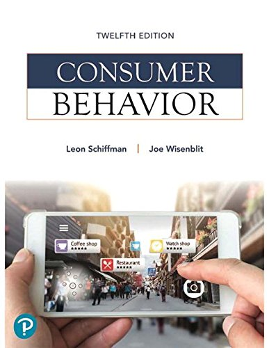 Consumer Behavior (12th Edition) (What's New in Marketing)