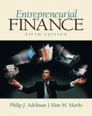 Entrepreneurial Finance (5th Edition)