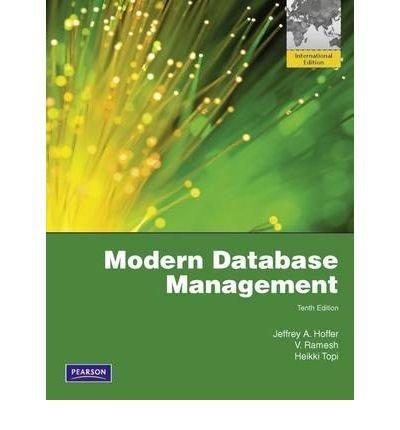 Modern Database Management.