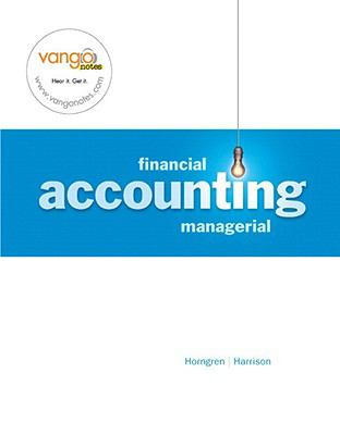 Financial and Managerial Accounting - Package