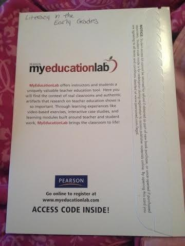 MyEducationLab Student Access Code Card