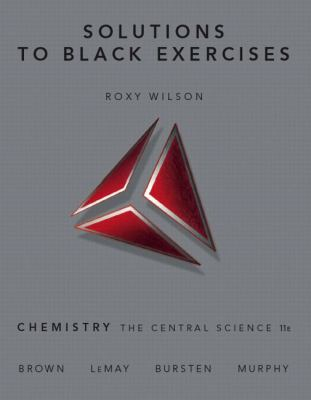 Chemistry: Cent. Science -Solution to Black Exercises
