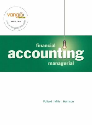Financial and Managerial Accounting CH. 15-24