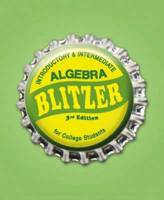 Introductory &Intermediate Algebra for College Students (3rd Edition)