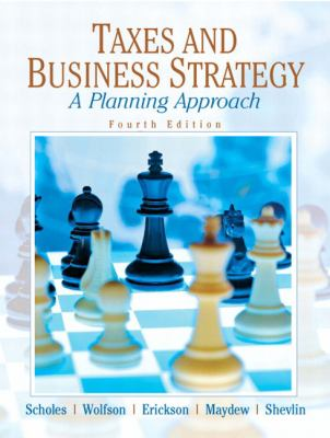 Taxes & Business Strategy