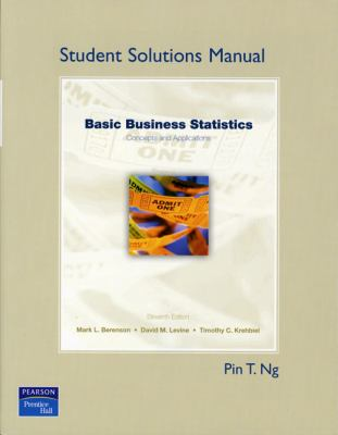 Basic Business Statistics - Student Solution Manual