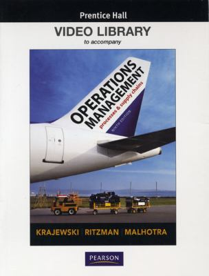 Video Library DVD for Operations Management