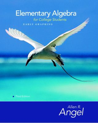 Elementary Algebra For College Students Early Graphing