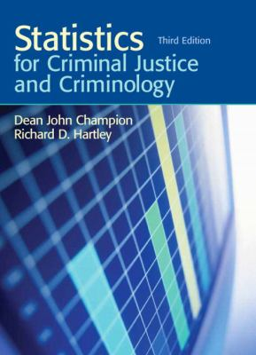 Statistics for Criminal Justice and Criminology