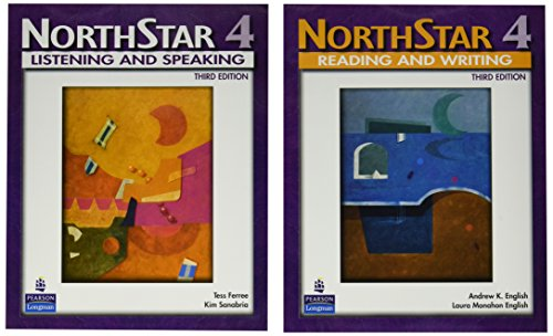 NorthStar, Listening and Speaking 4 (Student Book alone); NorthStar, Reading and Writing 4 (Student Book alone) (3rd Edition)