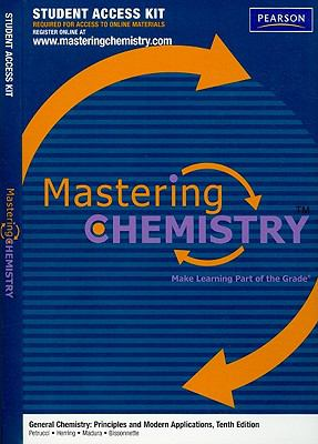 MasteringChemistry without Pearson eText Student Access Kit for General Chemistry: Principles and Modern Applications (Mastering Chemistry)