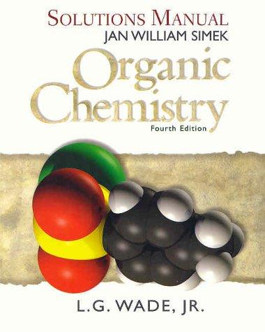 Organic Chemistry : Solutions Manual