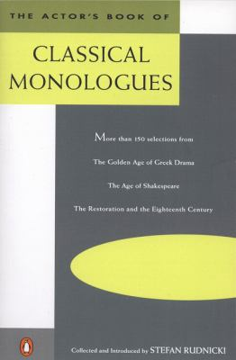 Actors Book of Classical Monologues
