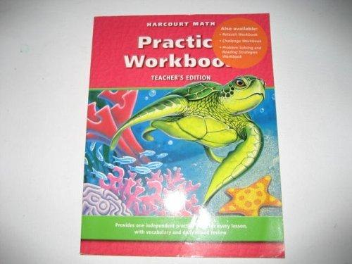 Harcourt Math Practice Workbook (Teacher's Edition)