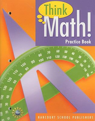Think Math! Practice Book, Grade 5