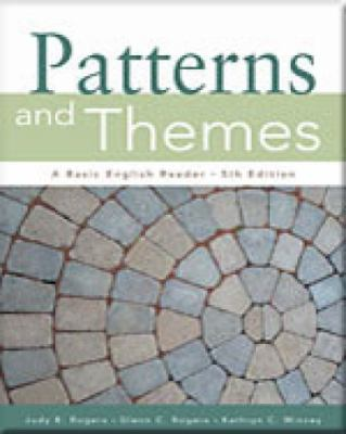 Patterns And Themes with Infotrac A Basic English Reader