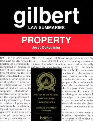Gilbert Law Summaries: Property