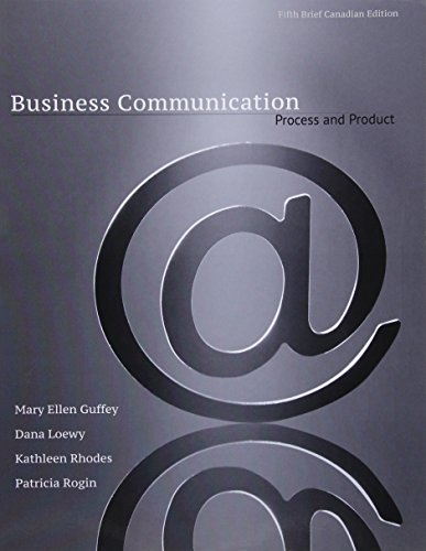 Business Communication: Process & Product with Style Guide