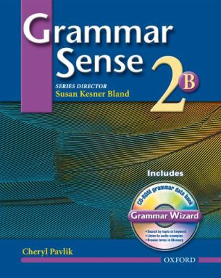 Grammar Sense 2 Student Book 2b With Wizard Cd-rom