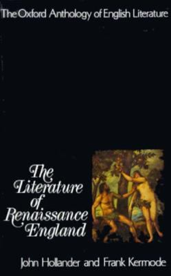 Literature of Renaissance England
